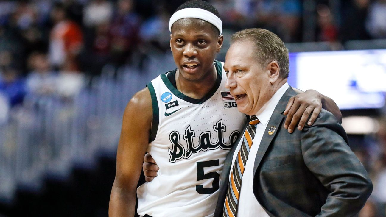 College Basketball Power Rankings Michigan State Back On