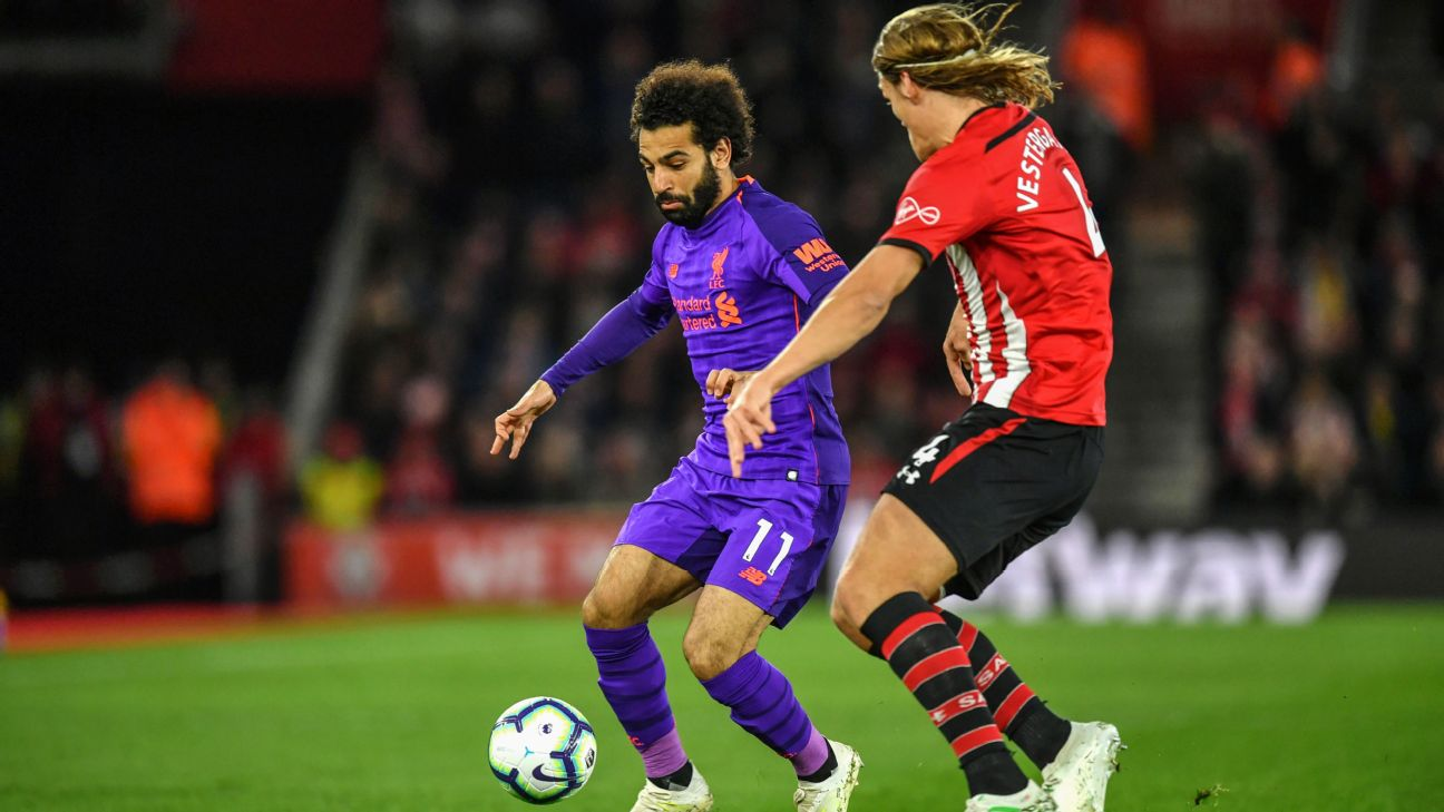 Salah calls 50th Premier League goal 'special' in Liverpool win 9