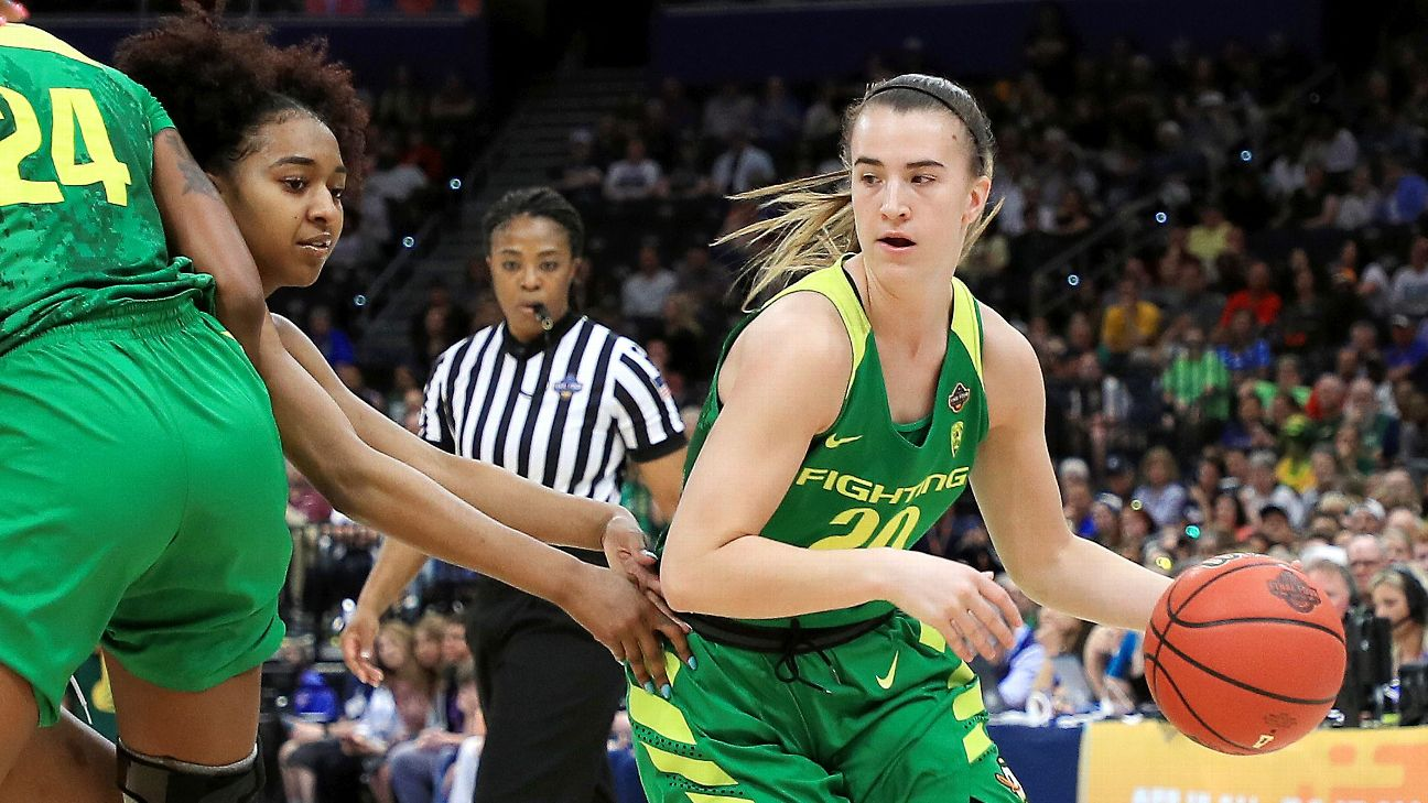 28220a8f Sabrina Ionescu, Oregon lead Way-Too-Early Top 25 for 2019-20