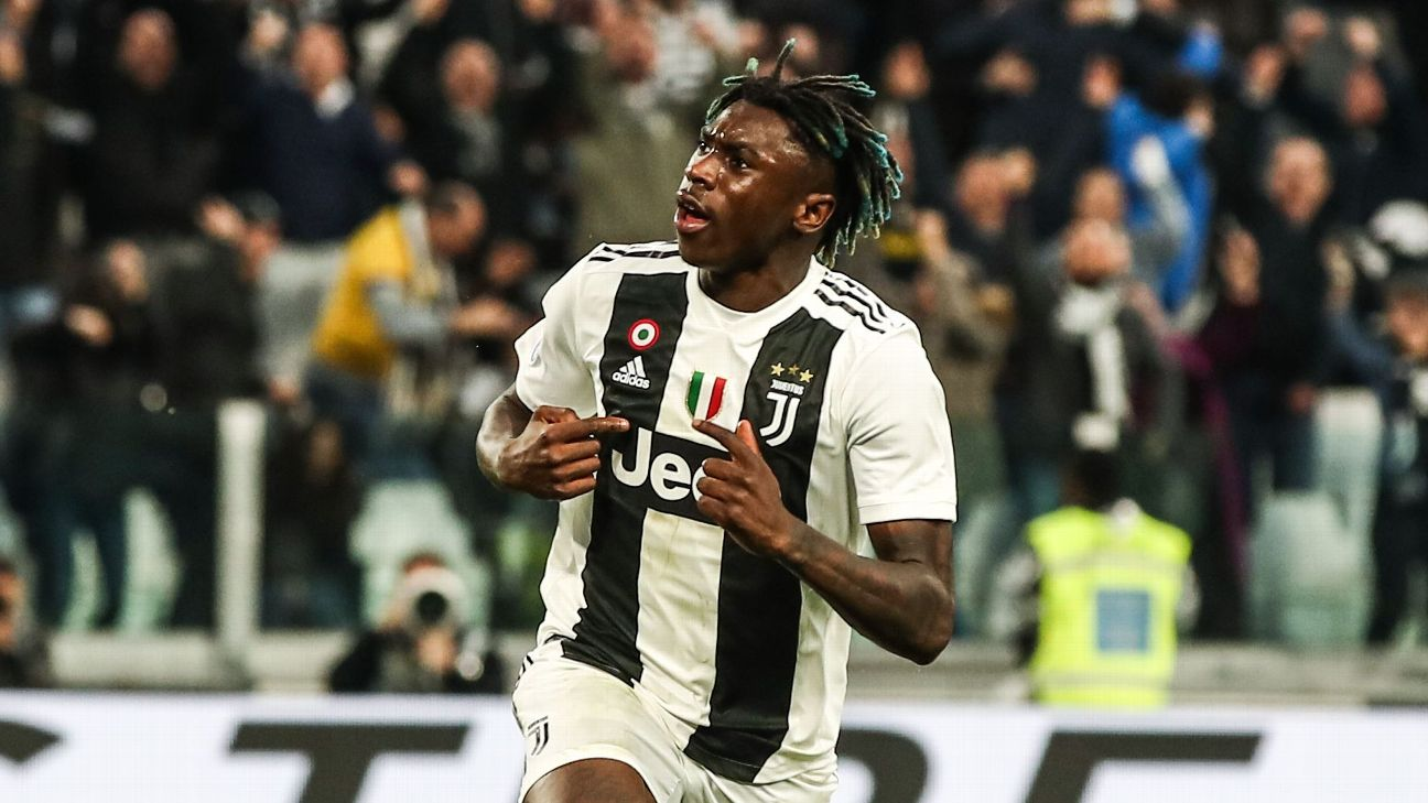 Moise Kean scored a dramatic late winner for Juventus against AC Milan.