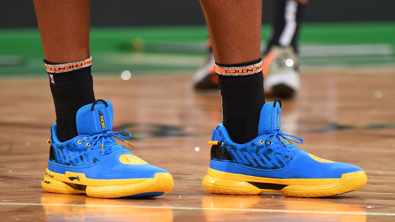 763ef37b239 Which player had the best sneakers of Week 25 in the NBA