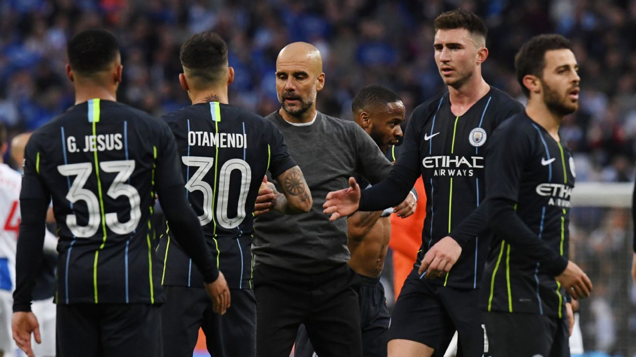 It was far from Man City's prettiest game under Pep Guardiola but City beat Brighton and now have secured a second cup final appearance.