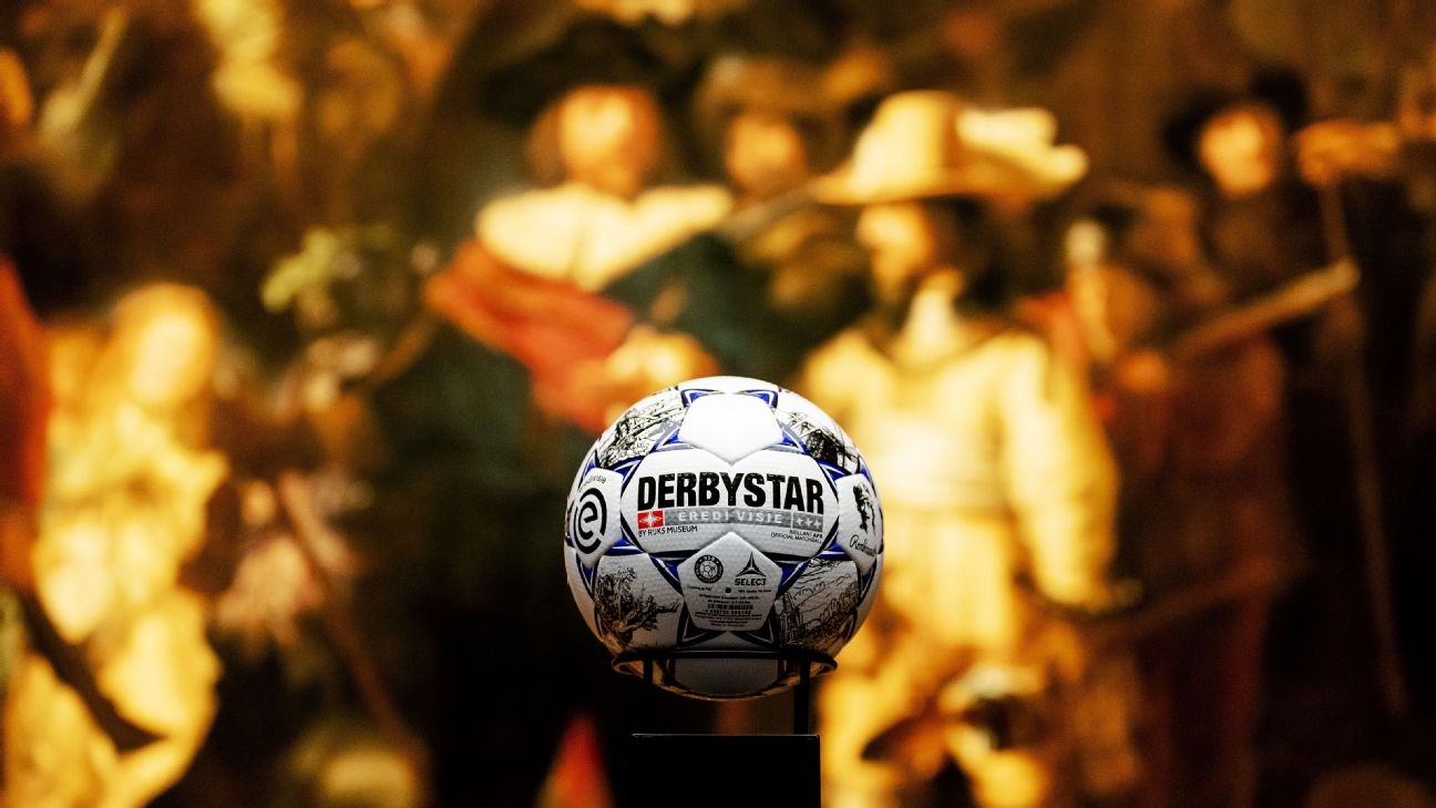 The Eredivisie will use a ball to commemorate the 350th anniversary of Rembrandt's death for the 2019-20 season.