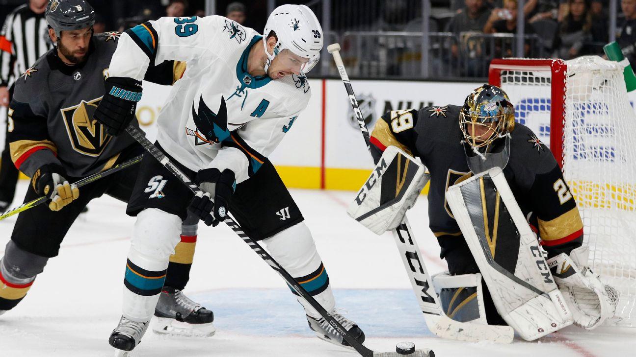2019 Stanley Cup playoffs - San Jose Sharks vs  Vegas Golden Knights