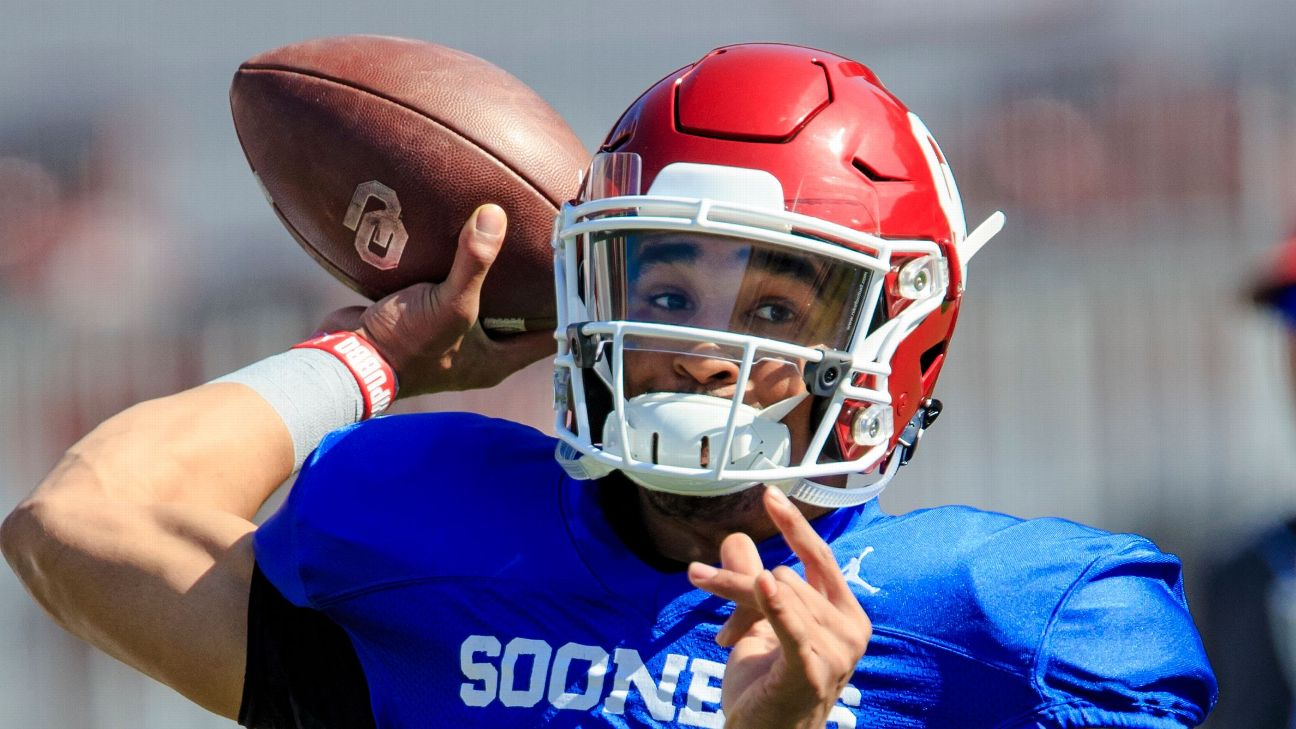 Inside Jalen Hurts' unprecedented spring at Oklahoma