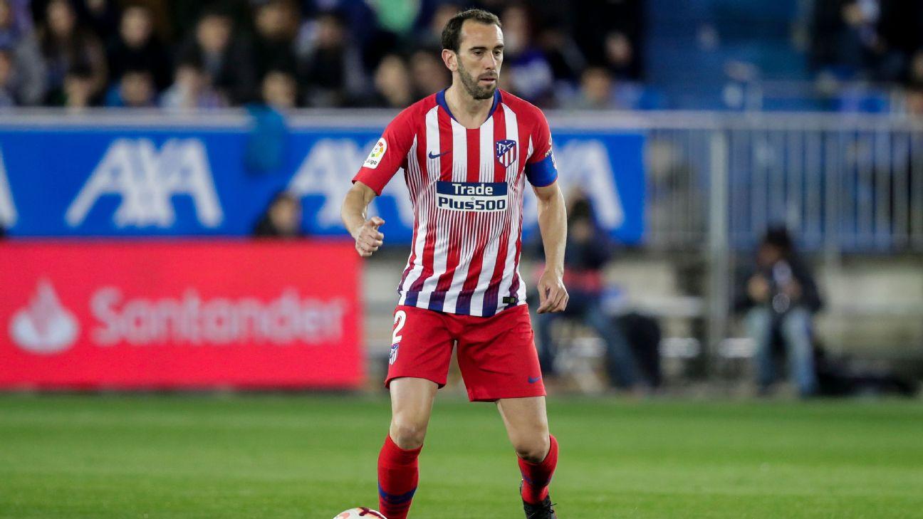Diego Godin, Atletico Madrid