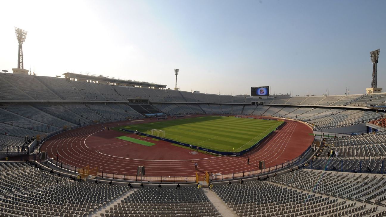 Cairo International Stadium will stage the opening game of the tournament and also the final.