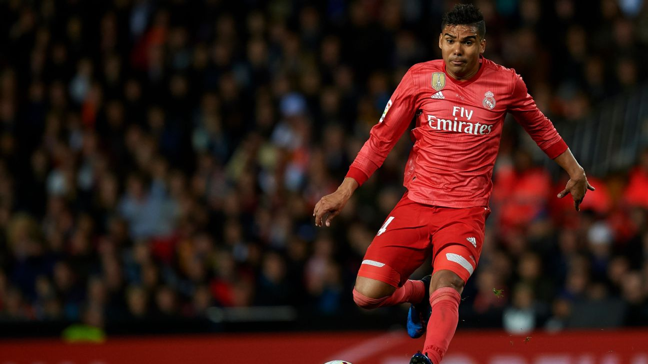 Casemiro, Real Madrid