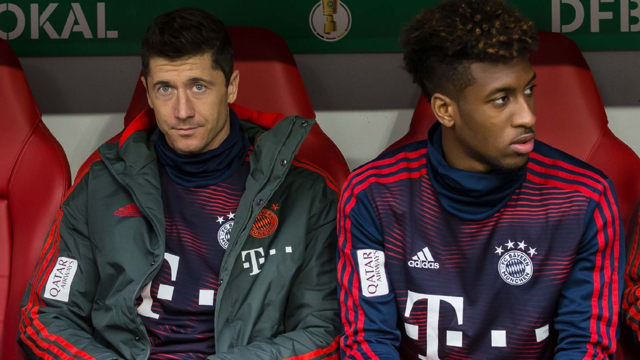 Robert Lewandowski, Kingsley Coman