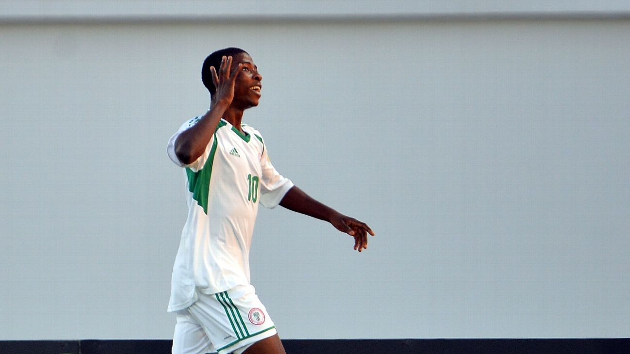 Kelechi Iheanacho, now at Leicester City, was a star for the Nigeria under-17 side in 2013, winning the u-17 World Cup, and finishing second at U-17 Afcon behind Ivory Coast.