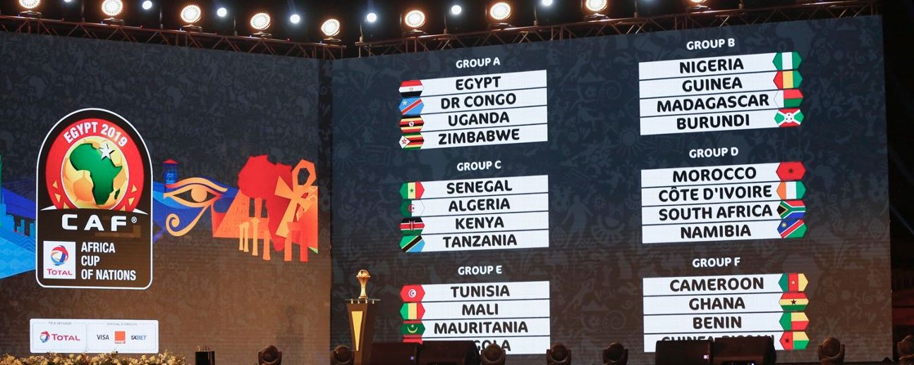The Africa Cup of Nations draw took place at the Pyramids of Giza, just outside Cairo.