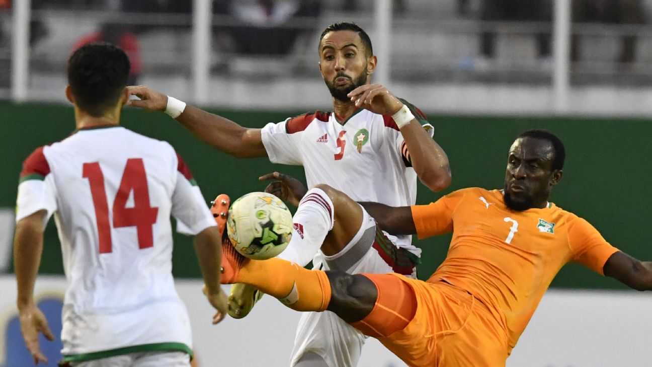 Ivory Coast will be looking for revenge against Morocco, who prevented their place at the World Cup in Russia.