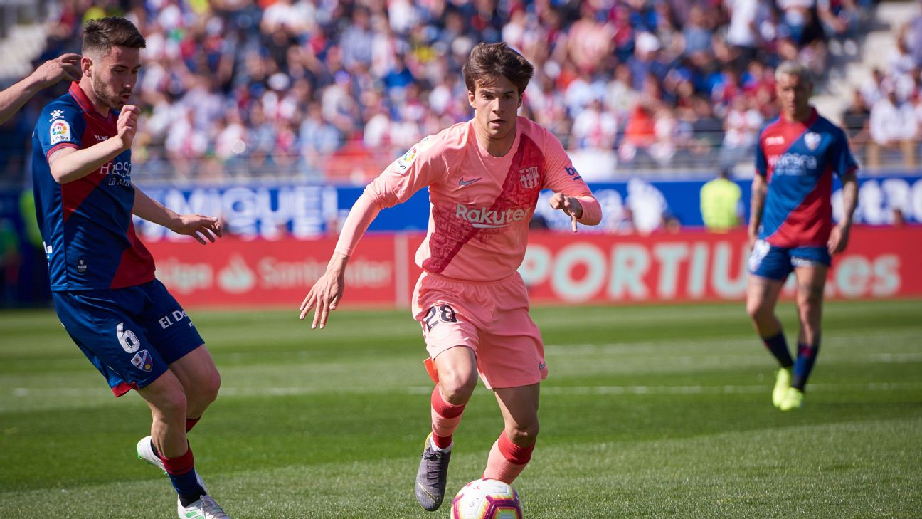 Riqui Puig impressed in his second first-team appearance, showcasing why he is one of the Barca's most highly-rated youngsters.