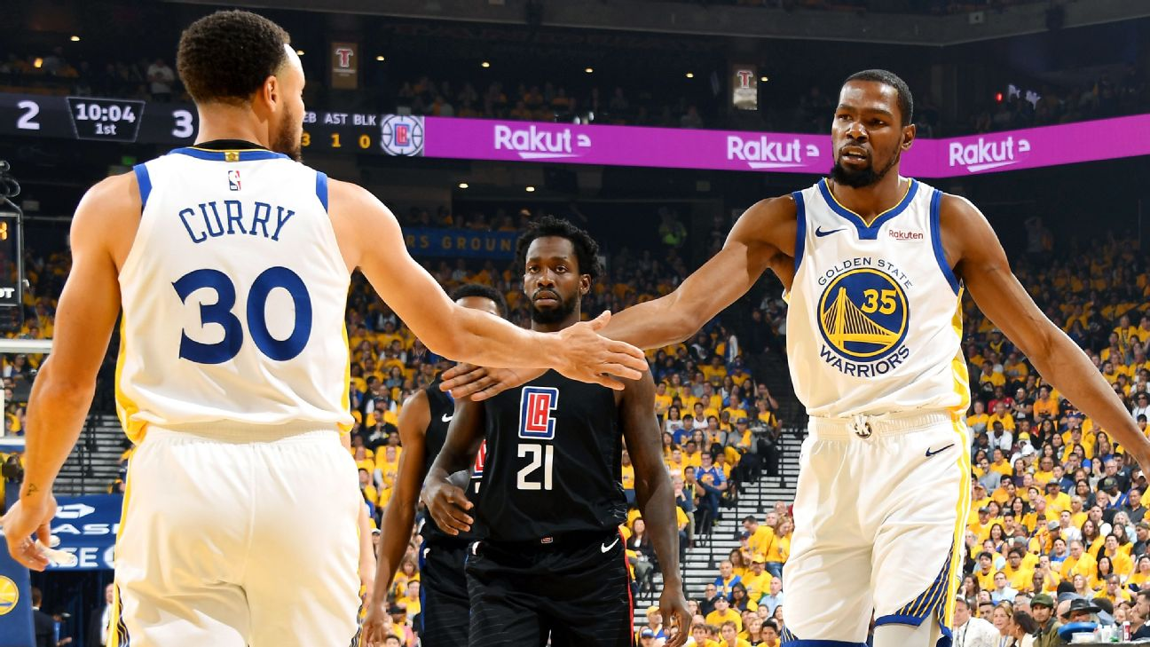 KD disputes idea Warriors are better without him