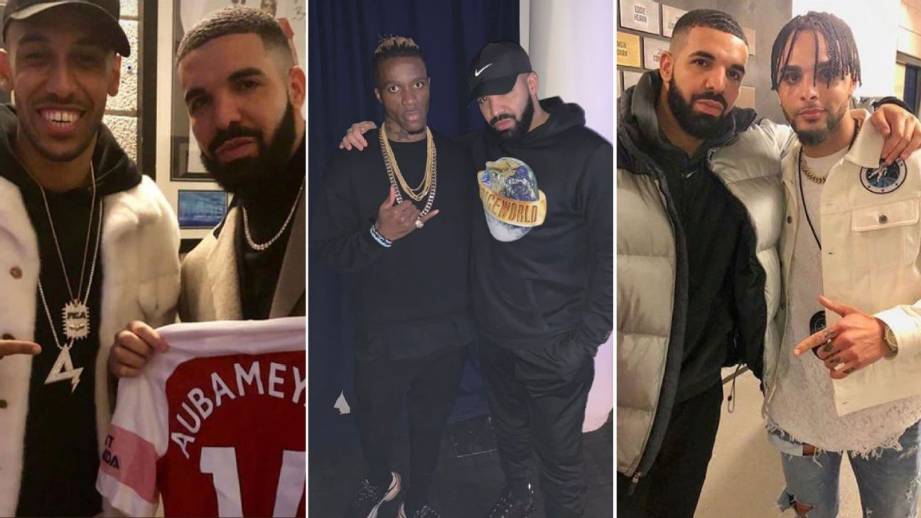 Has 'Drake Curse' hit European soccer? PSG humiliation suggests they're latest victims 2