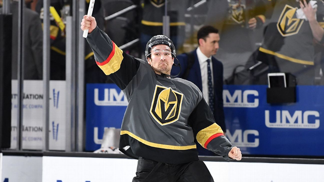 b607bcb456f On a roll in Vegas  Mark Stone shining on the big stage for the Golden  Knights
