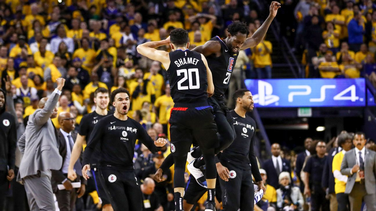 e4297518838d How the Clippers came back from 31 points down to shock the Warriors ...