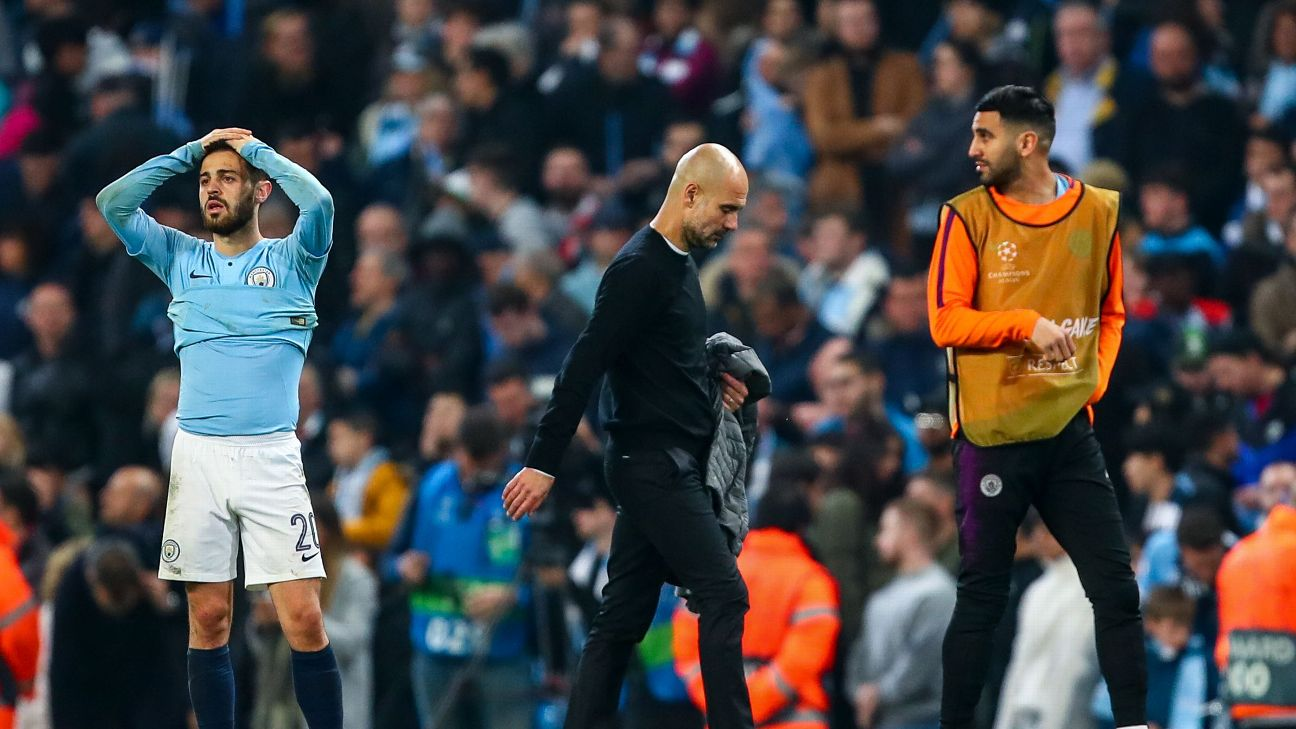 Pep Guardiola and Man City will be devastated to have been eliminated from the Champions League but they still have two important trophies to play for.
