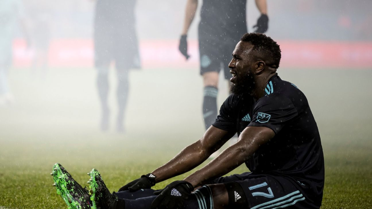 Jozy Altidore left Friday's game in the 82nd minute.