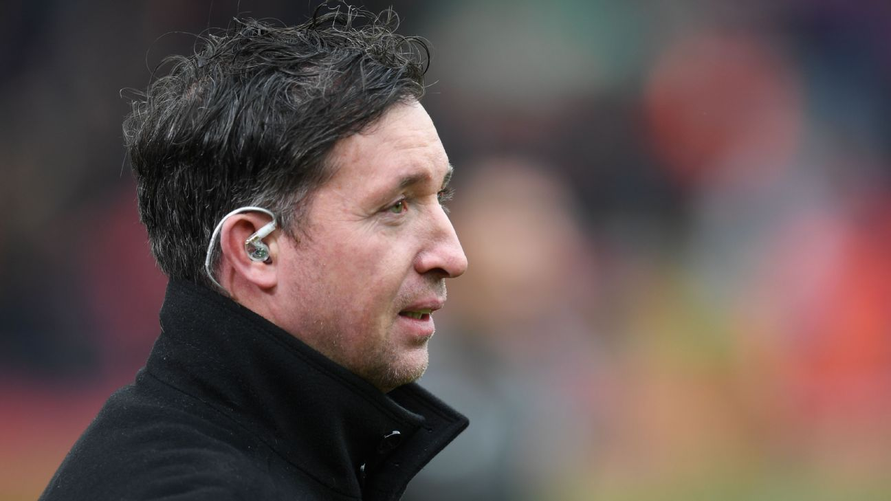 Robbie Fowler pitchside 2019