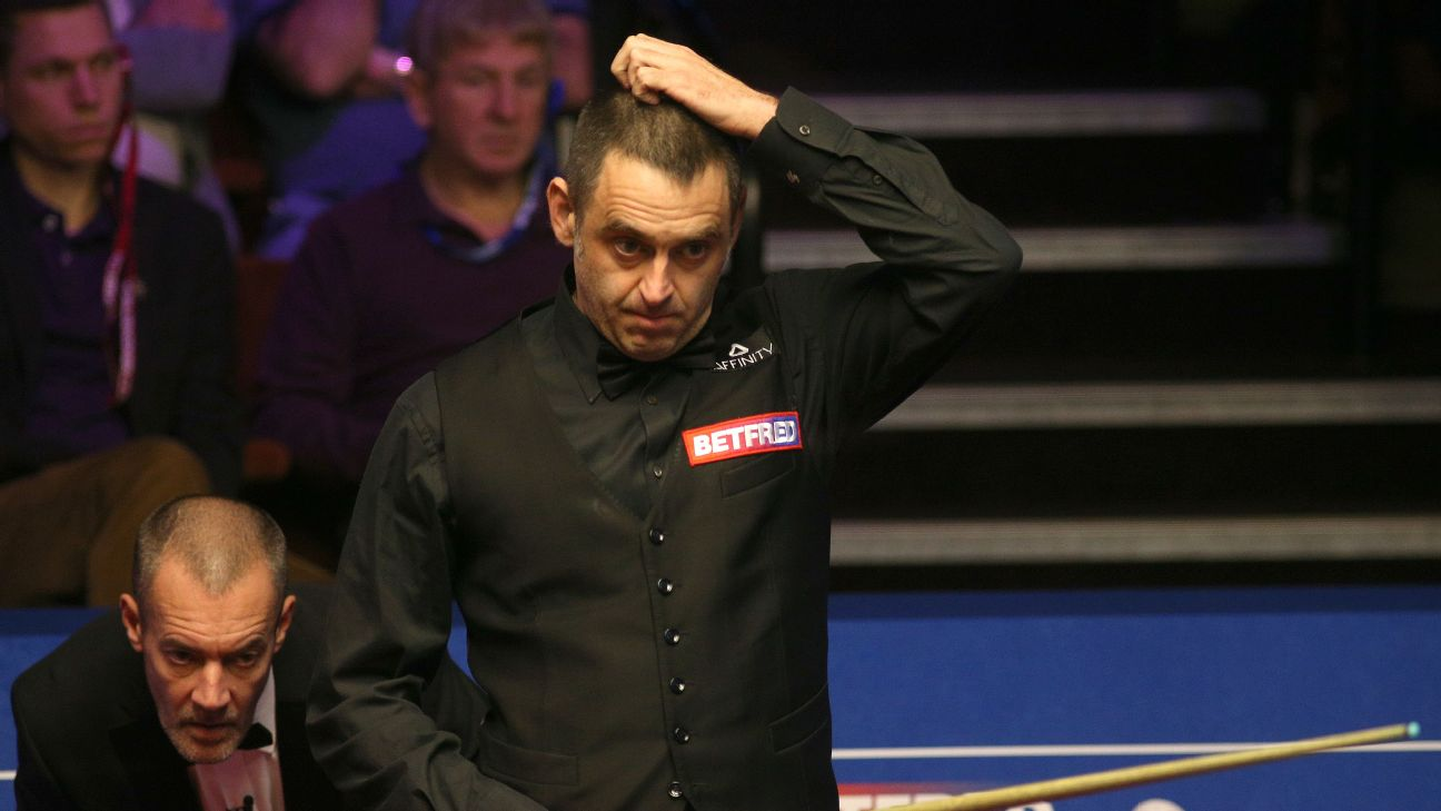 Ronnie O Sullivan Shocked By James Cahill In World Championship First Round