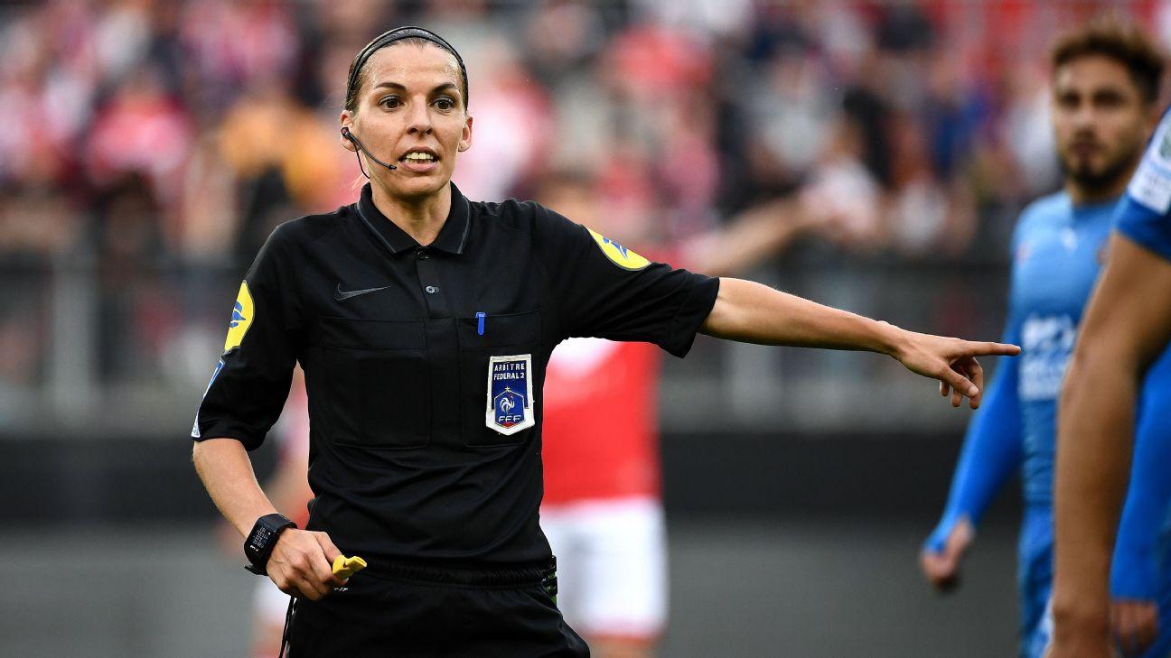 French referee Stephanie Frappart