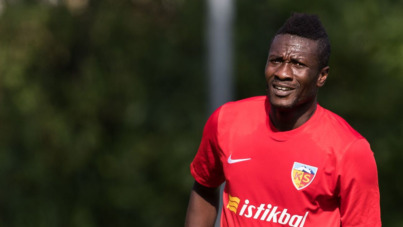 Gyan has not set the pitch alight this season with Kayserispor, missing a chunk due to various injuries.