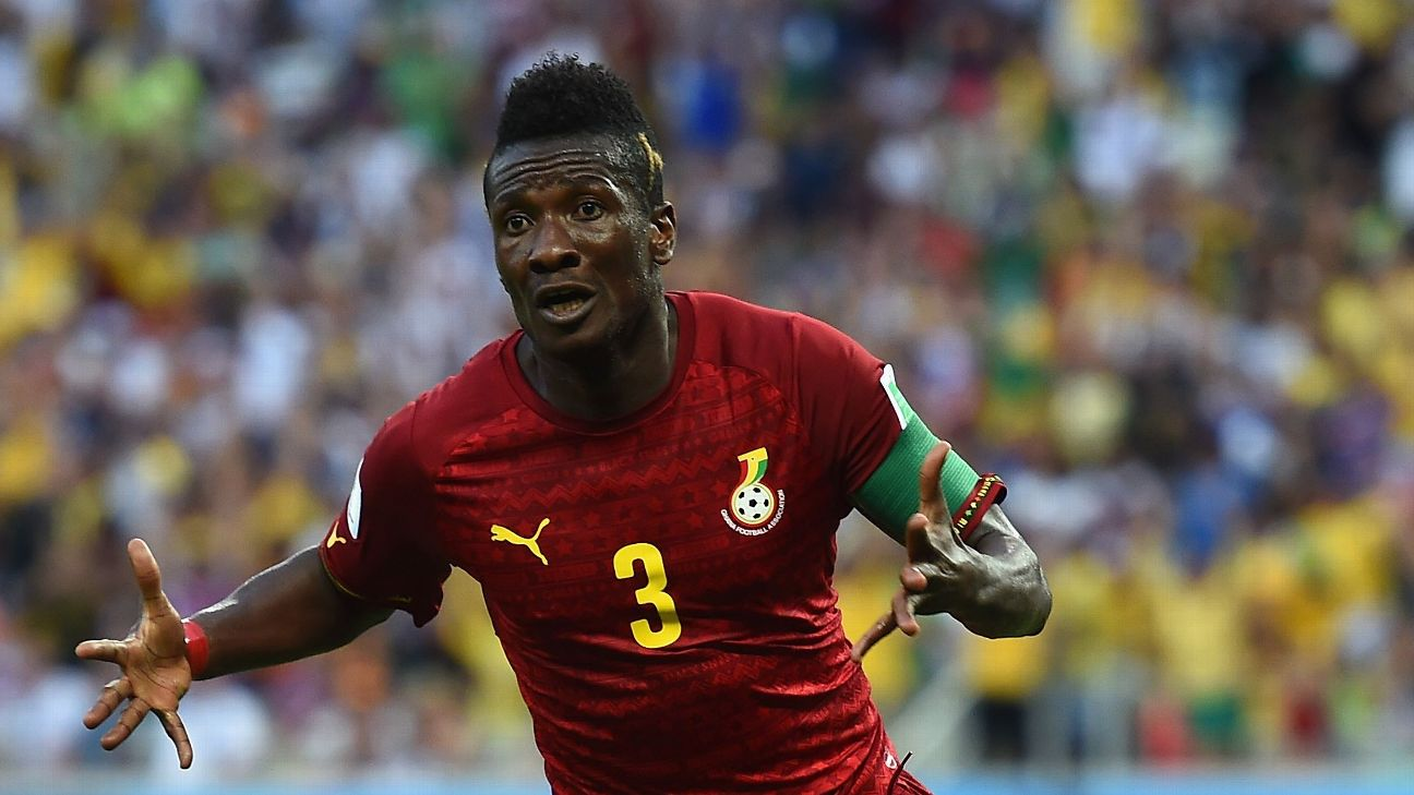 Asamoah Gyan is Ghana's leading goalscorer. Will he be able to add to his 51 in Egypt?
