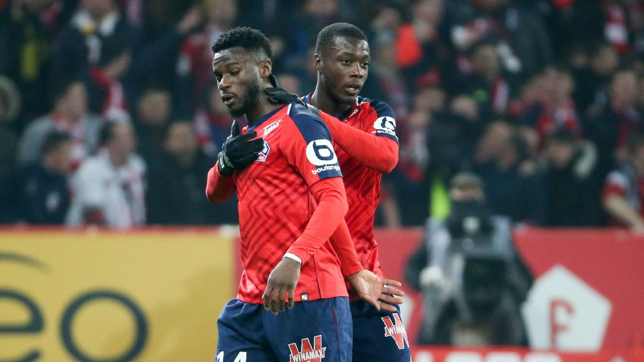 Nicolas Pepe is the best in Ligue 1 after Kylian Mbappe. Will Lille