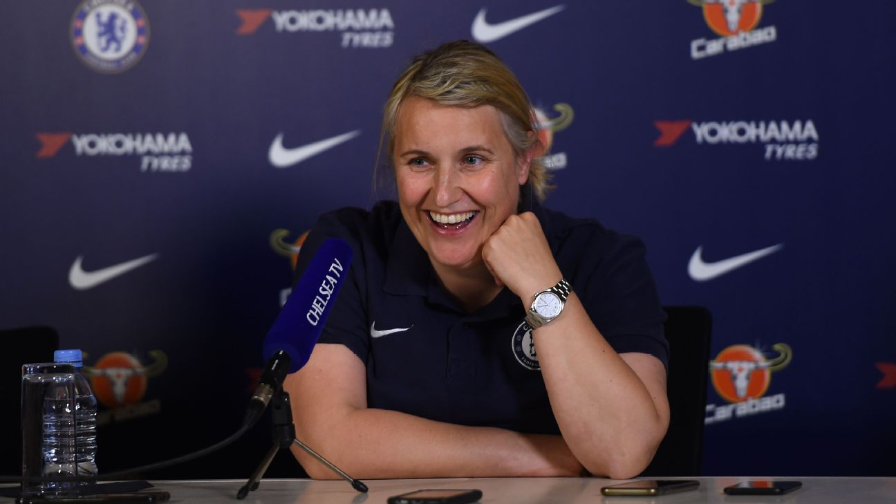 Emma Hayes, Manager of Chelsea Women