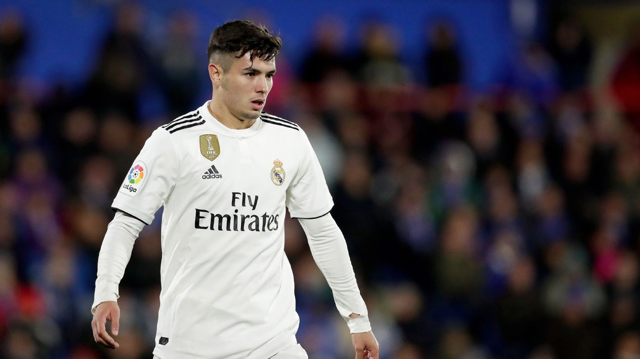 Brahim Diaz, 19, is one Real Madrid who is doing more than just going through the motions to wind down the season.
