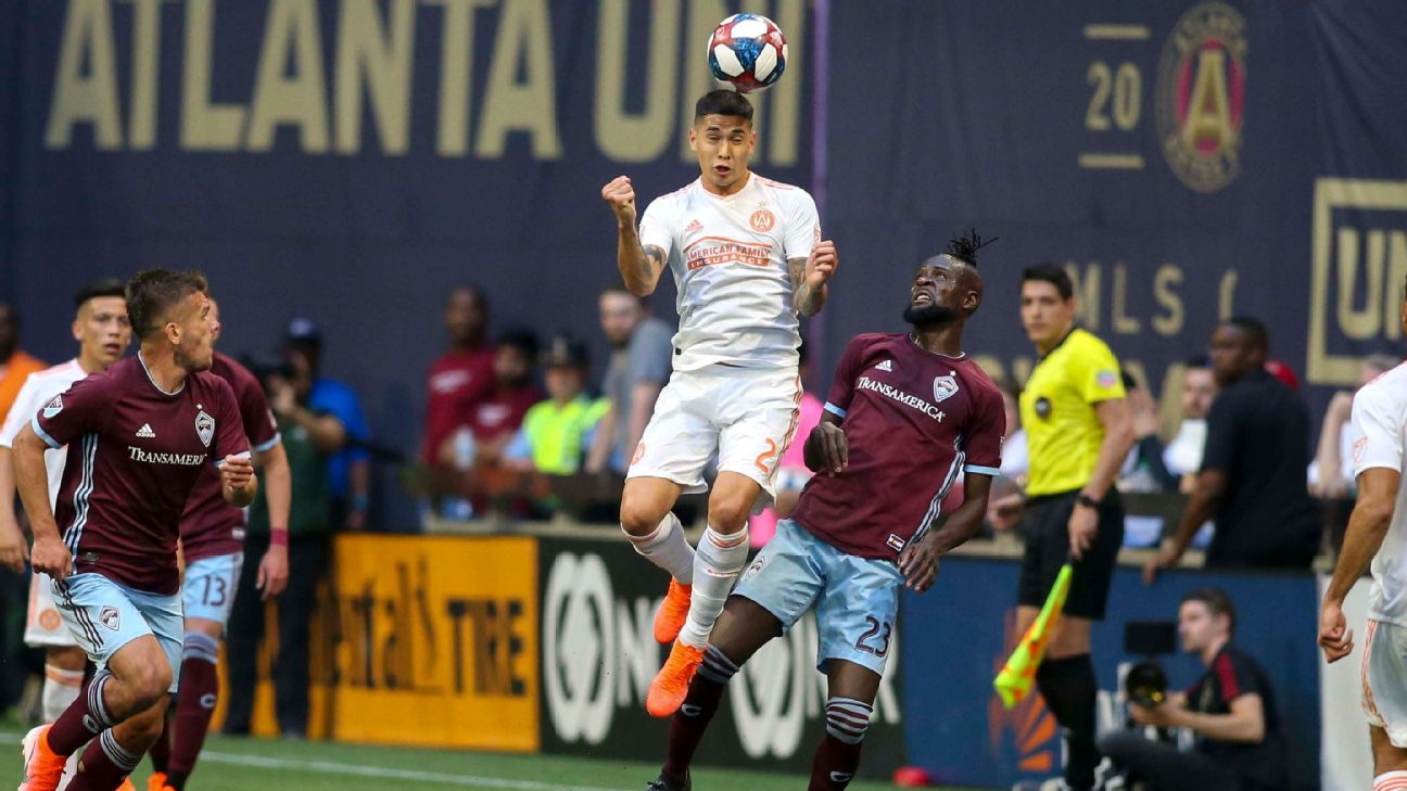 Atlanta earn first home win of season over winless Colorado