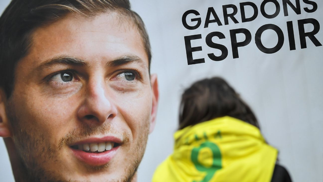 Nantes will give a tribute to former player Emiliano Sala, who died in a plane crash in the English Channel a year ago on Tuesday.