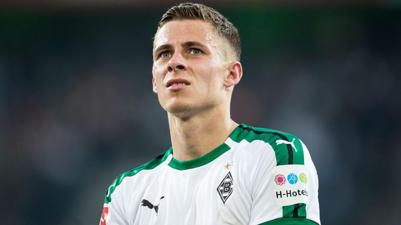 Thorgan Hazard, Borussia Moenchengladbach