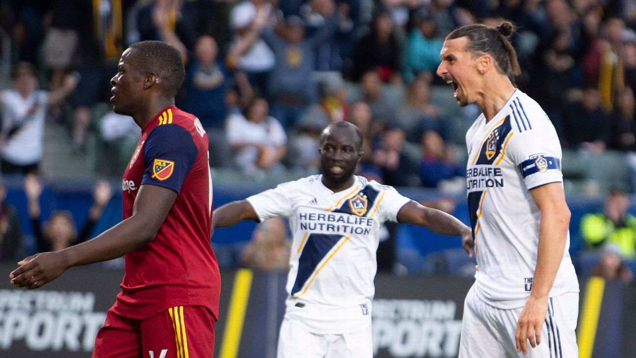Zlatan Ibrahimovic scores late winner as LA Galaxy top Real Salt Lake