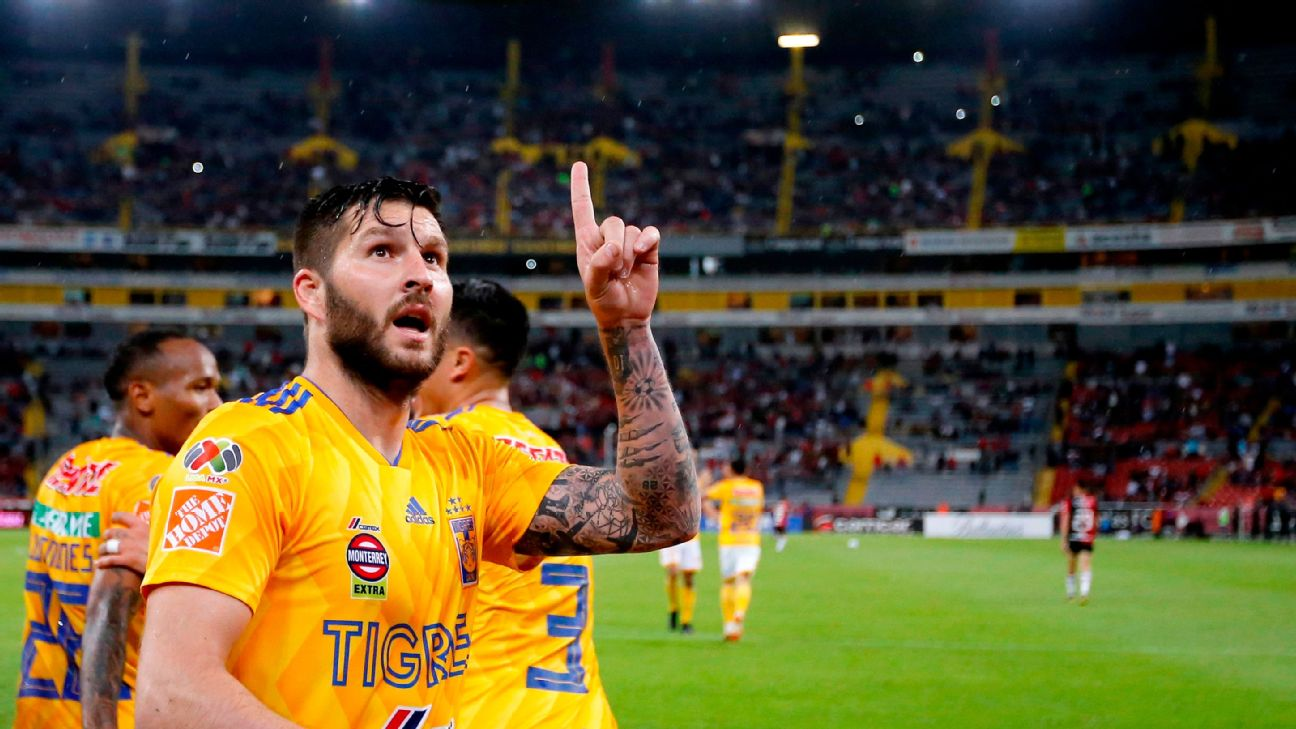 Andre-Pierre Gignac has won seven trophies with Tigres but to this point has not won the CONCACAF Champions League.