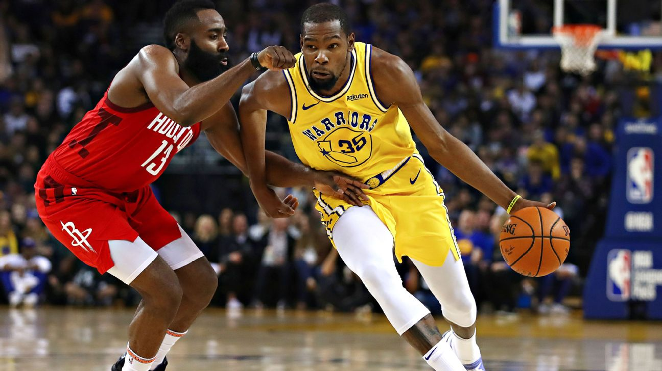 d90b99309fb1 Durant outplaying Harden when it matters most