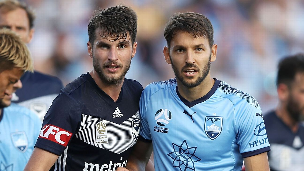 Terry Antonis and Milos Ninkovic