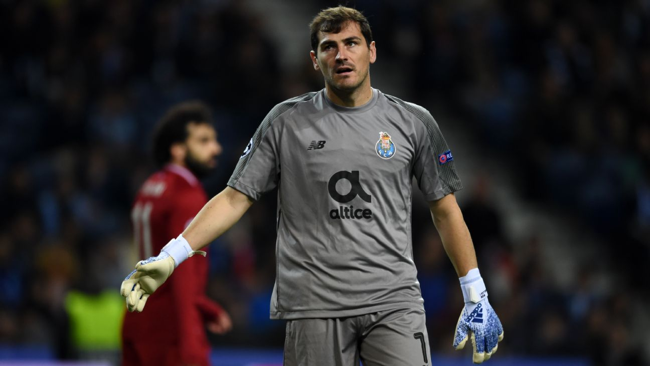 Iker Casillas, Porto