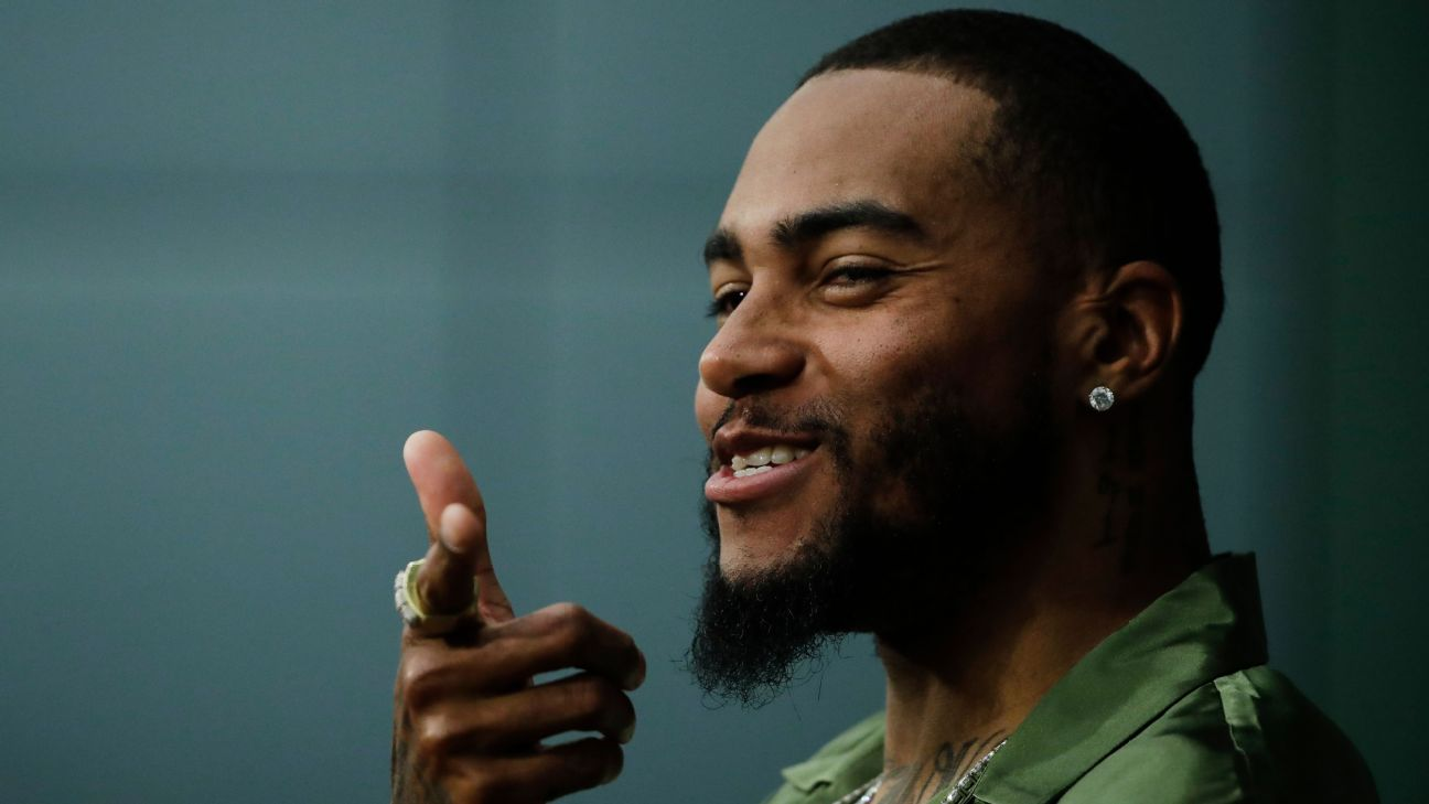 Eagles receiver DeSean Jackson featured an anti-Semitic quote on his social media feed that he attributed to Adolf Hitler and later said,
