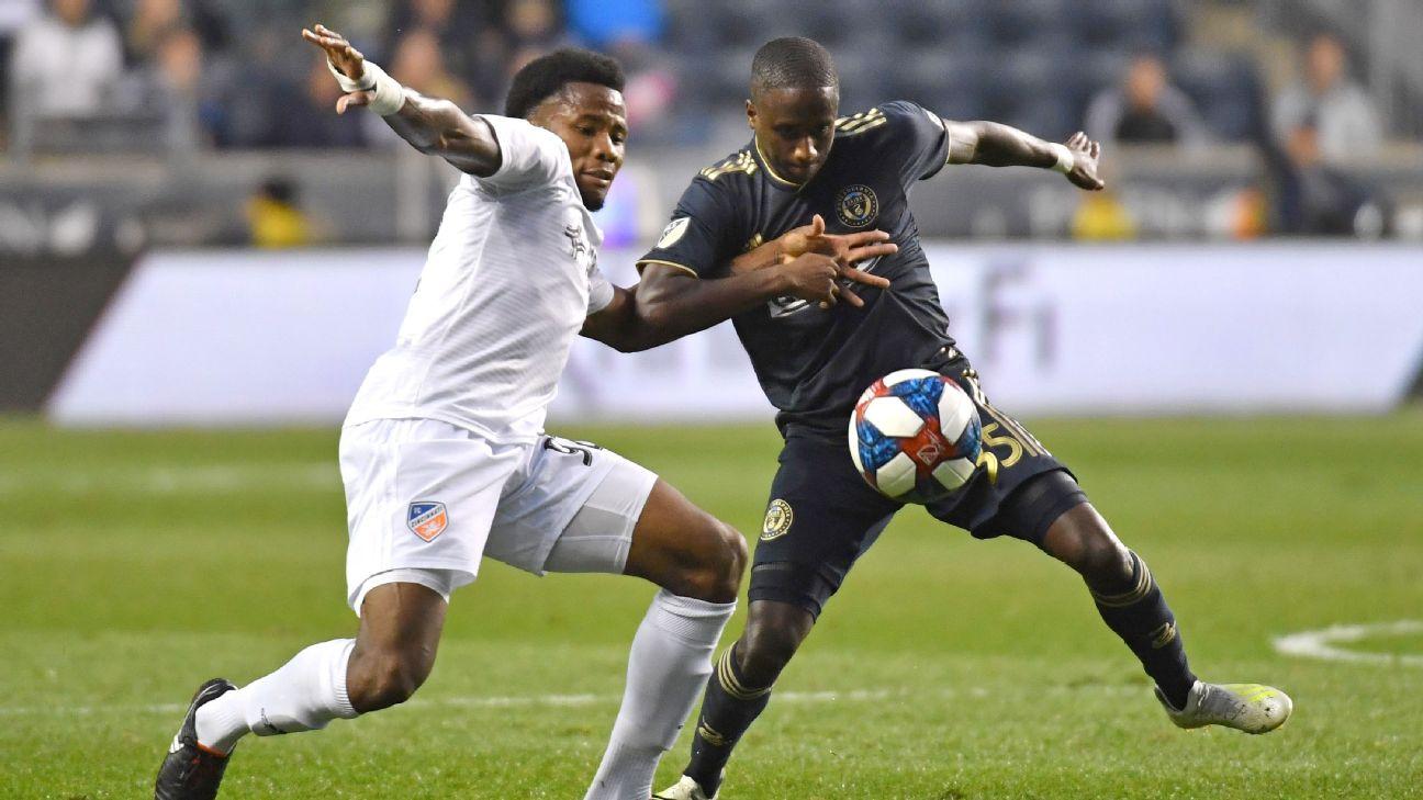 Philadelphia take surprise East lead after win over FC Cincinnati