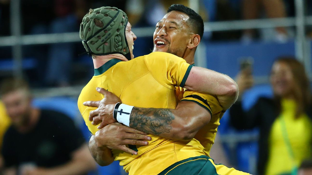 cb8eddba11b Israel Folau fronts a Rugby Australia Code of Conduct hearing on Saturday.  With Folau s career hanging by a thread