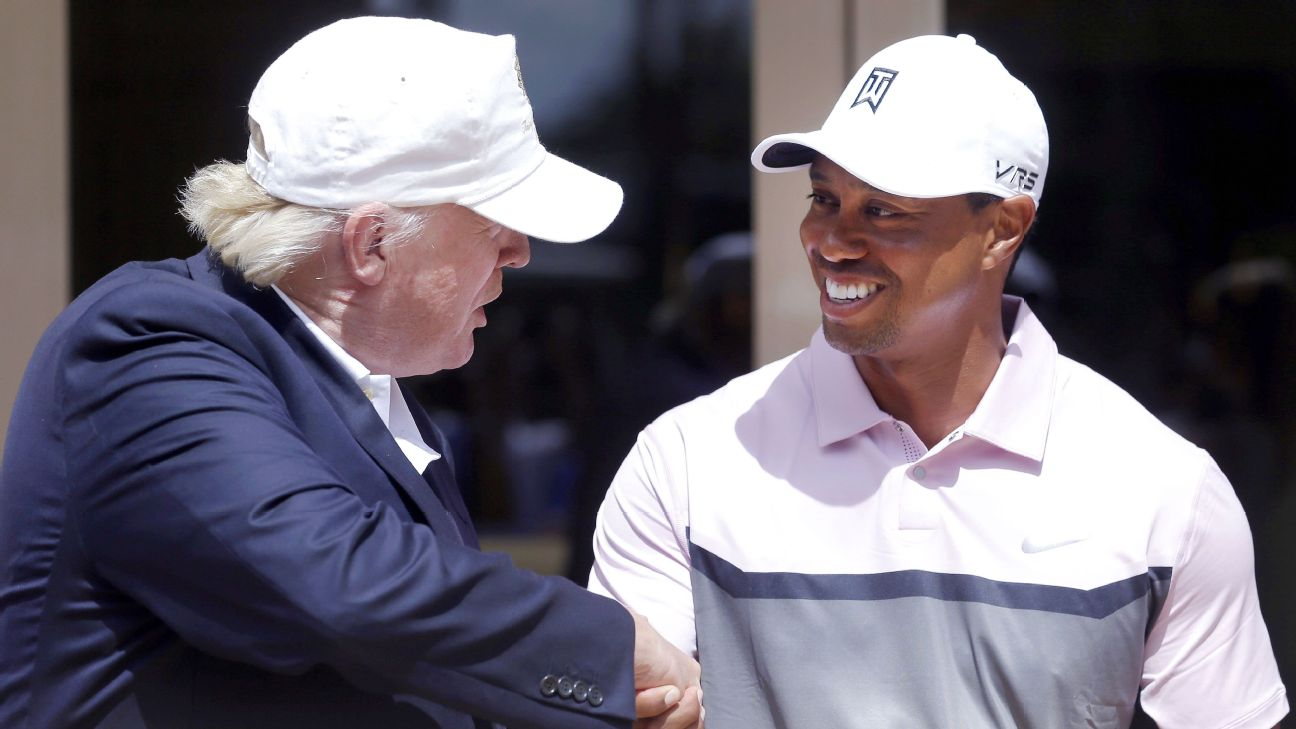 b8c1e0138b097 Tiger Woods will become the 33rd sports figure presented the Presidential  Medal of Freedom