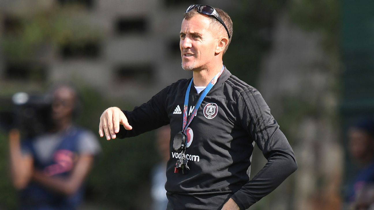 Orlando Pirates coach Milutin Sredojevic has been with the club, his second stint, since 2017. He is on the brink of his first PSL title, and Pirates' fifth.