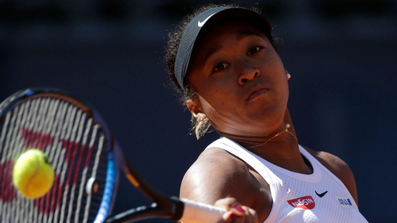 1daac98b46aea Naomi Osaka and Simona Halep won their opening matches at the Madrid Open