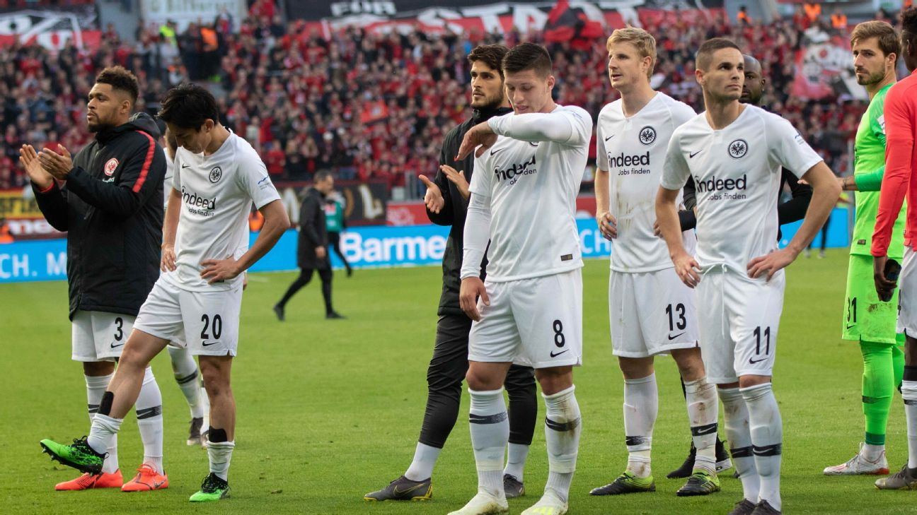 Eintracht Frankfurt players