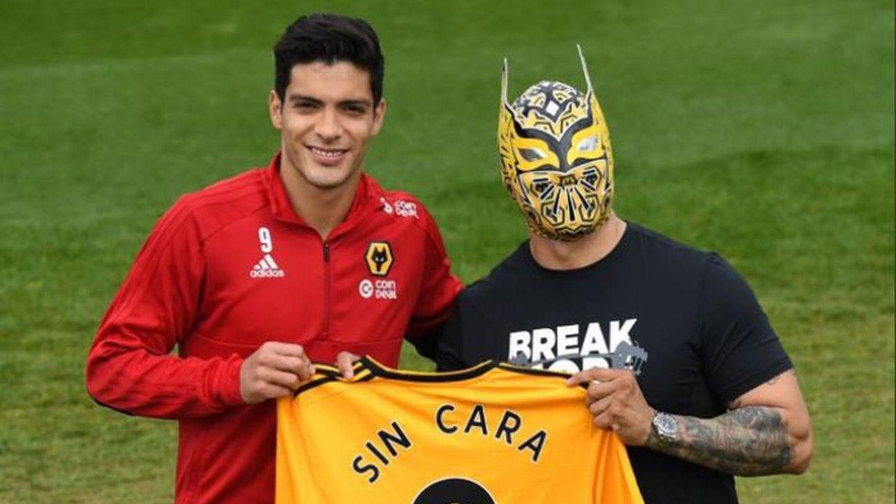 4767e18ea Jimenez welcomes WWE star Sin Cara to Wolves