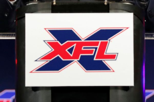 XFL unveils inaugural schedule for 2020