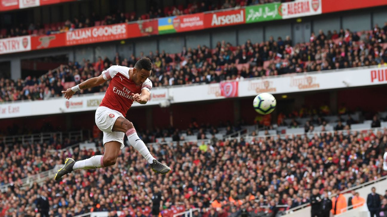 Aubameyang's 20th league goal for the season went somewhat in vain, as Brighton stole two points from the Champions League-eager Gunners.