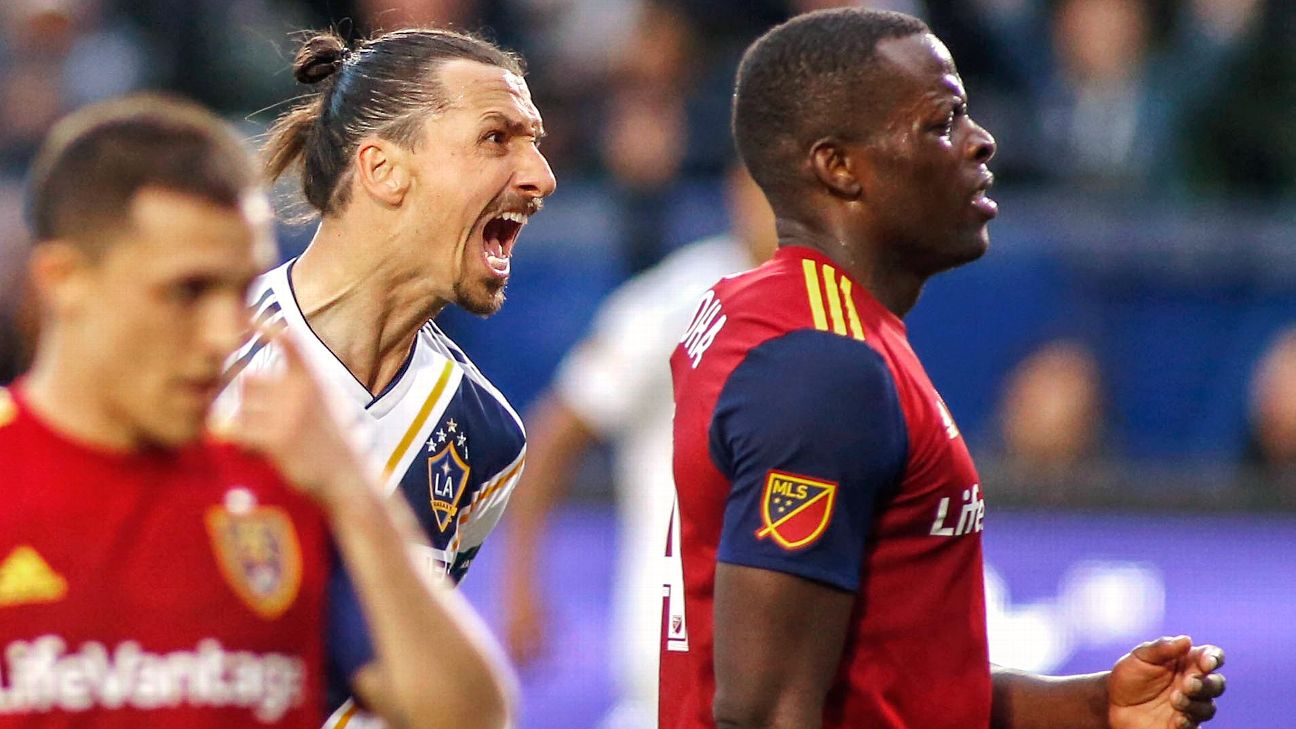 Zlatan Ibrahimovic allegedly threatened Nedum Onuoha when the LA Galaxy met Real Salt Lake.
